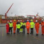 Rogaland Gruppe på ekskursjon til Petrojarl Varg
